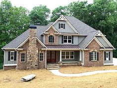 Superior Craftsman House Plan - 24363TW | Craftsman, Northwest, Traditional, Luxury, Photo Gallery, Premium Collection, 1st Floor Master Suite, Butler Walk-in Pantry, CAD Available, Den-Office-Library-Study, Jack & Jill Bath, Loft, PDF, Corner Lot | Architectural Designs