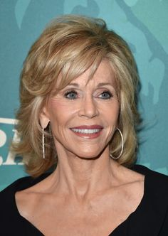 FILE - In this Oct. 10, 2014 file photo, Jane Fonda arrives at the 2014 Variety Power Of Women event... - The Associated Press