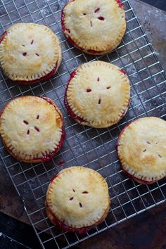 Raspberry Rhubarb Hand Pies + recipe #summerrecipe #raspberry #rhubarb