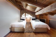 bedroom -luxury chalet -chambre à coucher  -ikone -ikhome - rental chalet