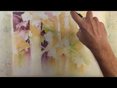 """""""Autumn in the trees"""" Narrated Step by Step Negative Painting Tutorial Watercolor Negative Painting, Watercolor Poppies, Watercolor Video, Watercolor Painting Techniques, Watercolour Tutorials, Watercolor Landscape, Watercolor Lesson, Space Painting, Painting Trees"""