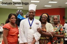 """""""I came to the Food Bank to be a better cook, but it has made me a better person."""" - Derrick Boggs, San Antonio Food Bank Culinary Training Program graduate. Congratulations to our Culinary Training Program Graduates!"""