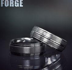 Follow@benchmarkringsto see more content!  #forgeretailer#forgewk34   Style #: (L to R) CF68100BKT &RECF58180CC.
