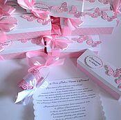 """Свадебный салон ручной работы. Ярмарка Мастеров - ручная работа Набор свадебных аксессуаров """"Розовый кварц"""". Handmade."""