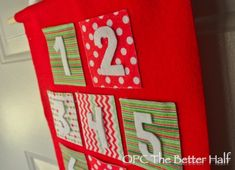DIY Felt Advent Calendar