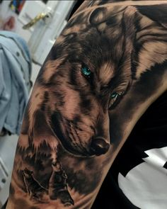 - You are in the right place about (notitle) Tattoo Design And Style Galleries On The Net – Are The - Wolf Sleeve, Wolf Tattoo Sleeve, Forearm Sleeve Tattoos, Tattoo Sleeve Designs, Tattoo Designs Men, Wolf Tattoos Men, Maori Tattoos, Badass Tattoos, Tattoos For Guys