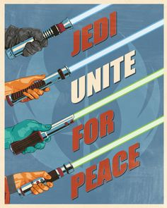 Star Wars Propoganda Posters // by Steve Thomas