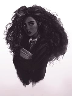 Hermione - art by aeyon on Tumblr.                                                                                                                                                                                 More