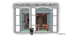 Madrid, Bar, Furniture, Home Decor, Gourmet, Cookies, Illustrations, Life, Decoration Home