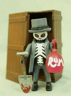 Zombie Art Project 2: Baron Samedi by Zombie Monkie