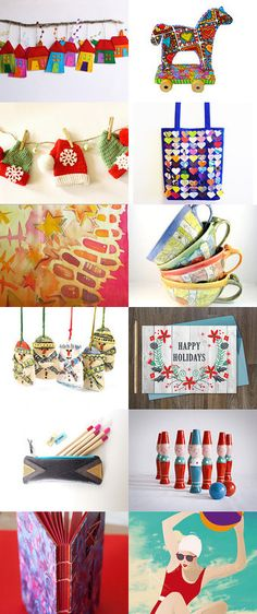 Bright and Fun! by Maia Ming Fong on Etsy--Pinned with TreasuryPin.com