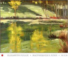 Macpherson's pond  10 x 8