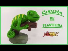 Como Hacer a un Camaleón de Plastilina / Porcelana Fria / How to make Chameleon with clay - YouTube