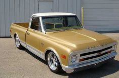1968 Chevrolet Pickup presented as Lot at St. 67 Chevy Truck, Classic Chevy Trucks, Chevy C10, Chevrolet Trucks, Chevy Classic, Custom Pickup Trucks, C10 Trucks, Hot Rod Pickup, Custom Wraps