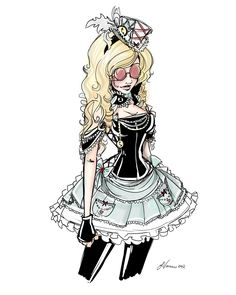 Steampunk Alice Costume Idea 2012 by NoFlutter.deviantart.com on @deviantART
