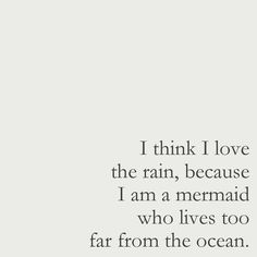 you can still be a mermaid at heart, even if the ocean isn't close to you. …