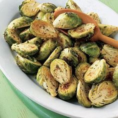 Roasted Brussels Sprouts Recipe | MyRecipes.com