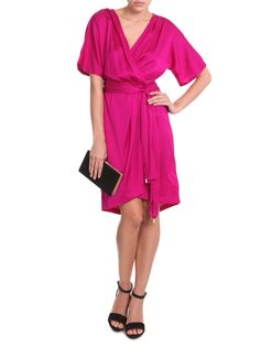dvf wrap dress. Want want want.