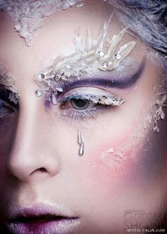 Photography Graham Kenneth Short. Model Faye Hunter. on Mystic Talia http://mystictalia.com/avant-garde-makeup/nggallery/page/8#sg5