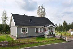 Älvsbytalon kaunis Pihlajatar-talomalli,  3h+k+s, 101,5 m² + yläkerta 47 m².