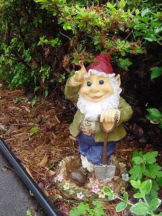 Show us your gnome!  Find a picture, click the participate button, add a title and upload your picture