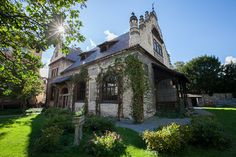 Stay at the Vila Walter & Sons, an enchanting Art Nouveau house in the heart of Bohemia (CZ), in the spa town of Poděbrady Art Nouveau, Villa, World Globes, Double Room, Romantic Places, Woman Painting, Inspired Homes, Vacation Spots, Facade