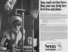 Advertisement appeared in a 1967 medical journal