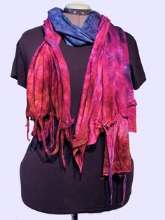 WandaWorks - wear one of my hand sewn hand dyed garments this season, made of a wool knit so soft everyone thinks it's silk!