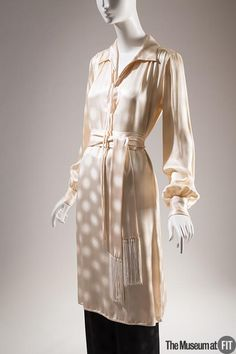 Ensemble | Designer: Yves Saint Laurent (French, 1936-2008) | Silk | France, 1978 | The Museum at FIT