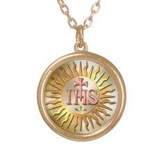 Jesuit Seal Custom Jewelry
