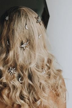 hair bling; beautifu
