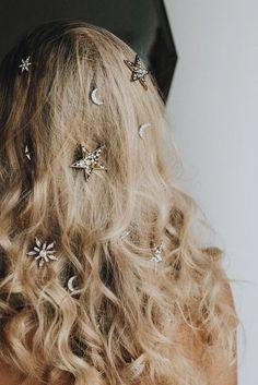 hair bling; beautifu