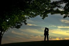 Stunning sunset engagement session by http://dsoleil.com