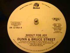 80's Boogie-Funk -Dunn & Bruce Street -Shout For Joy 1982