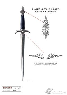 A Narnian protector must have several different kinds of swords!