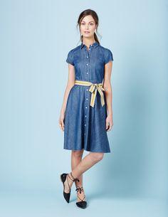 Sophia Shirt Dress WH987 Summer Dresses at Boden