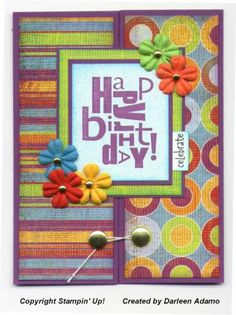 SC67 Bright B-day by darleenstamps - Cards and Paper Crafts at Splitcoaststampers