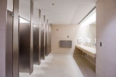 Hospital bathroom.