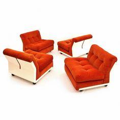 italian modular furniture. italian modular amanta lounge chairs by mario bellini for cu0026b italia furniture t