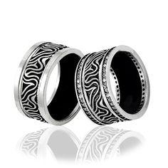 Gümüş Çift Alyans 11,4 gr EAL044