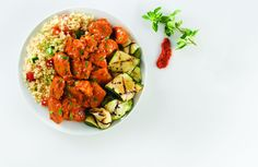 Chicken Curry and Couscous Primavera