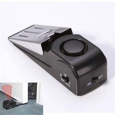 125 dB 정지 시스템 보안 홈 쐐기 모양의 문 정지 스토퍼 알람 블록 차단 Systerm