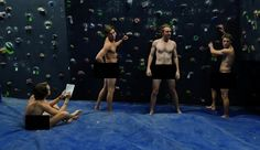 Getting Fit Inside The World's First Naked Gym