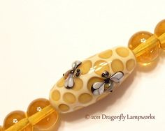 Honeycomb by Dragonfly Lampworks, via Flickr