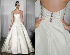 whah you think about a-line? (silk faille, just in case you get murried in mil/chi) amsale amelie
