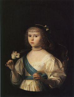 Gerard van Honthorst - Probably Amalia Margaretha von Dhaun