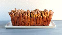 Pumpkin Pull Apart Bread . . . I love Bread!