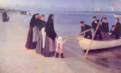 Peder Severin Krøyer 1851-1909 | Norwegian-born Danish Impressionist painter | Plein-air painting | TuttArt@ | Pittura * Scultura * Poesia * Musica |