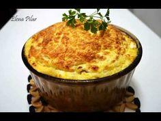 Soufflé de coliflor y puerro - recetas de cocina faciles - YouTube