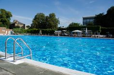 The best - and least known - way to cool down in the summer in London. Brockwell Lido, perhaps the city's most beautiful outdoor pool